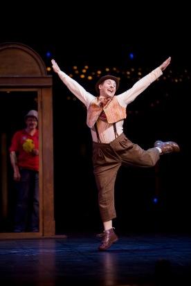 Quidam joyful leap